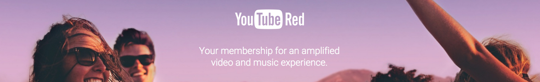 YOUTUBE RED PAGE