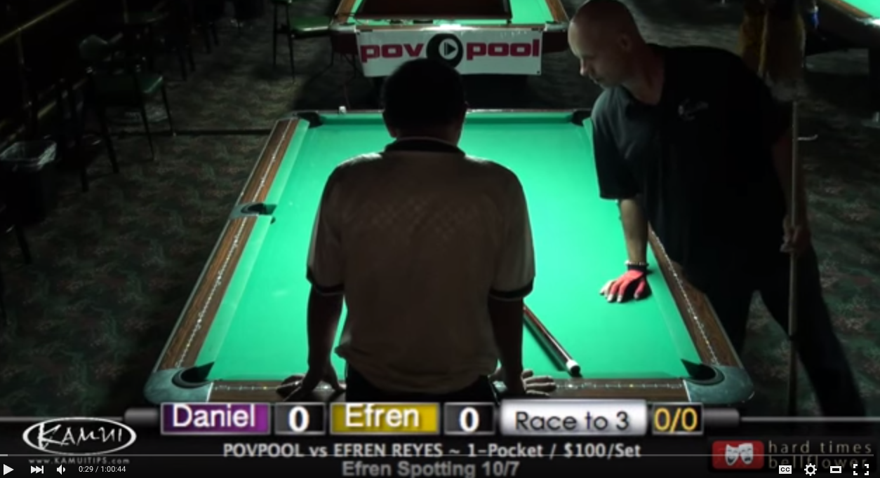 Efren Reyes vs Daniel Busch in October 2015