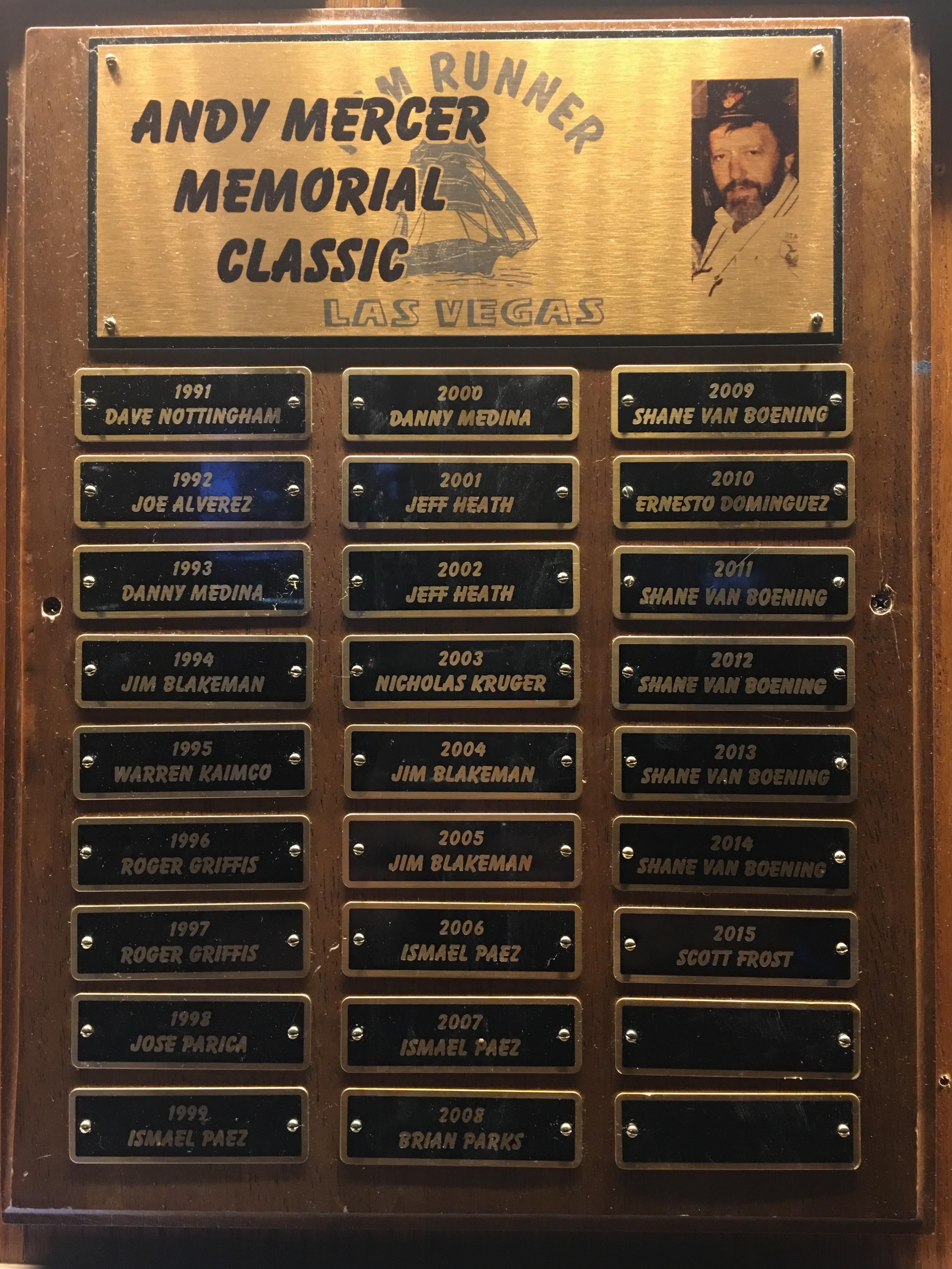 Mercer List of Champions!
