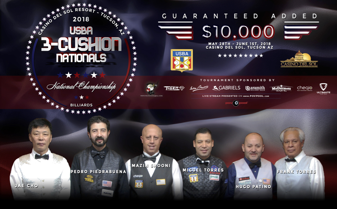 2018 USBA 3-Cushion National Championship